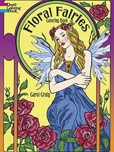 9780486783277: Floral Fairies Coloring Book
