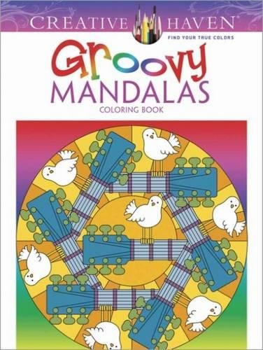 9780486783437: Creative Haven Groovy Mandalas Coloring Book (Adult Coloring)