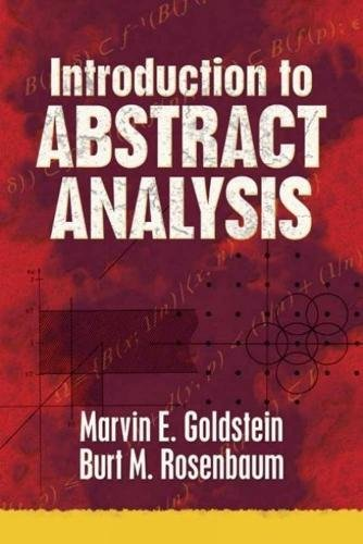9780486789460: Introduction to Abstract Analysis (Dover Books on Mathematics)