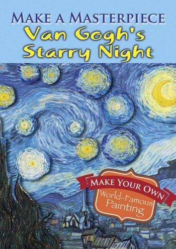 9780486789507: Make a Masterpiece -- Van Gogh's Starry Night (Dover Little Activity Books)