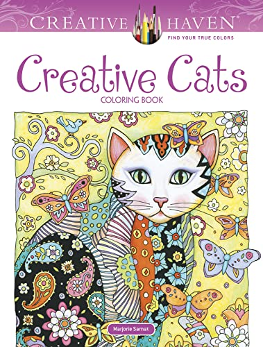 9780486789644: Creative Haven Creative Cats Coloring Book (Adult Coloring)