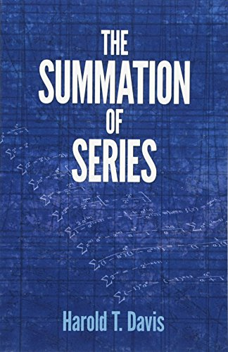 9780486789682: The Summation of Series (Dover Books on Mathematics)