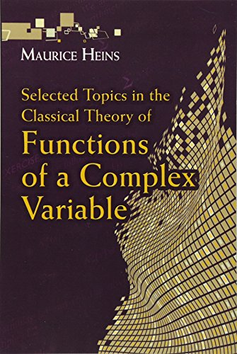 9780486789767: Selected Topics in the Classical Theory of Functions of a Complex Variable (Dover Books on Mathematics)