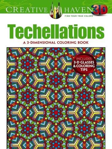 9780486790886: Creative Haven 3-D Techellations Coloring Book (Adult Coloring)