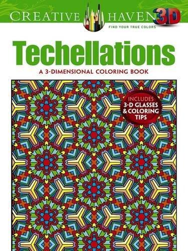9780486790886: Creative Haven 3-D Techellations Coloring Book (Creative Haven Coloring Books)