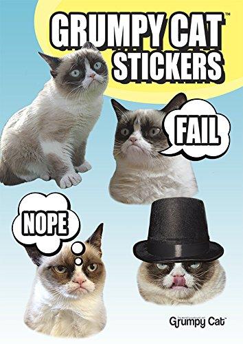 9780486791647: Grumpy Cat Stickers