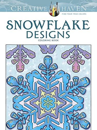 9780486791852: Snowflake Designs: Coloring Book