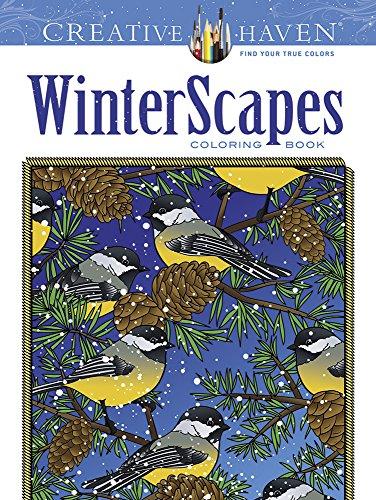 9780486791869: Creative Haven WinterScapes Coloring Book (Creative Haven Coloring Books)