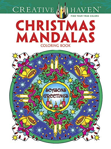 9780486791883: Creative Haven Christmas Mandalas Coloring Book (Creative Haven Coloring Books)