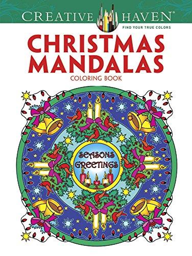 9780486791883: Creative Haven Christmas Mandalas Coloring Book (Creative Haven Coloring Books)