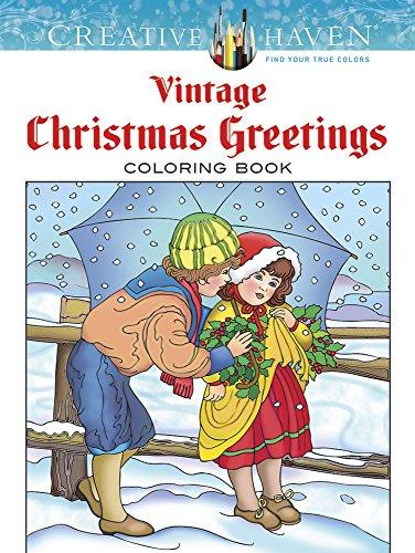 9780486791890: Vintage Christmas Greetings: Coloring Book