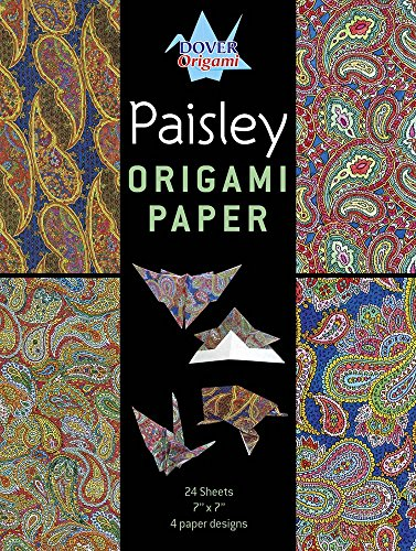 9780486793580: Paisley Origami Paper