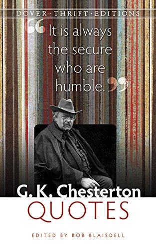 9780486793801: G. K. Chesterton Quotes (Dover Thrift Editions)