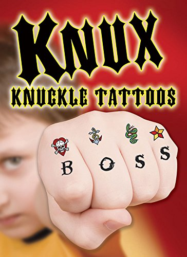 9780486793887: KNUX -- Cool Knuckle Tattoos (Dover Little Activity Books)