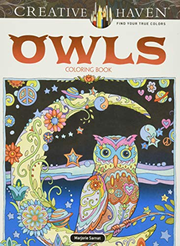 9780486796642: Creative Haven Owls Coloring Book (Adult Coloring)