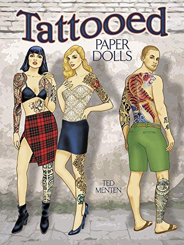 9780486797403: Tattooed Paper Dolls