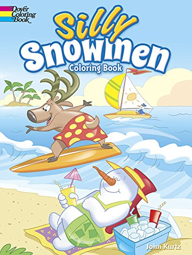 9780486797434: Silly Snowmen Coloring Book