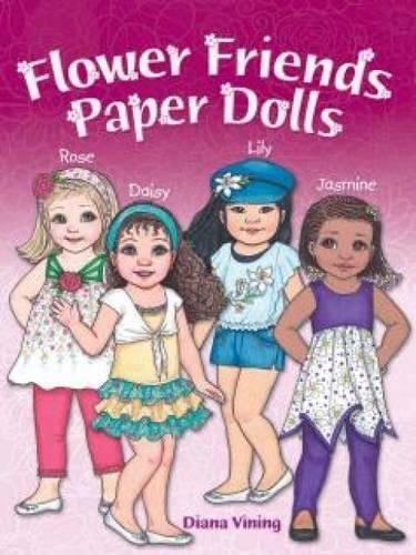 9780486797588: Flower Friends Paper Dolls (Dover Paper Dolls)