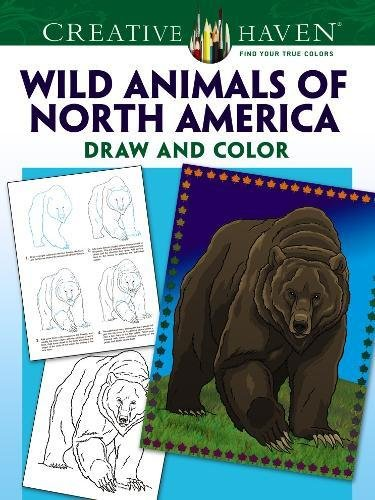 9780486798769: Creative Haven How to Draw Wild Animals of North America (Adult Coloring)