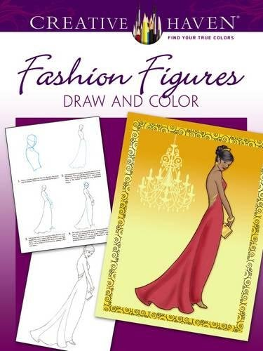 9780486798776: Creative Haven How to Draw Fashion Figures (Adult Coloring)