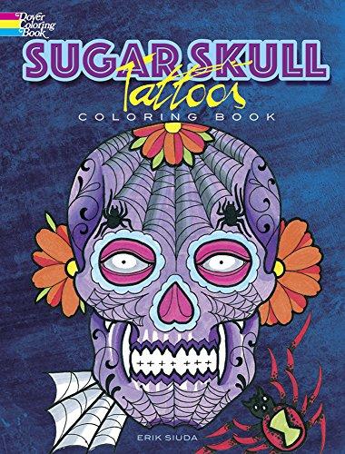 9780486798875: Sugar Skull Tattoos Coloring Book (Dover Coloring Books)