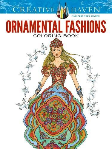 Creative Haven Ornamental Fashions Coloring Book Sun Ming Ju