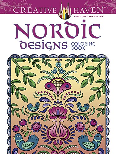 9780486799230: Nordic Designs Coloring Book