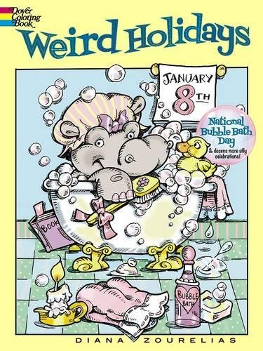 9780486799438: Weird Holidays (Dover Coloring Books)