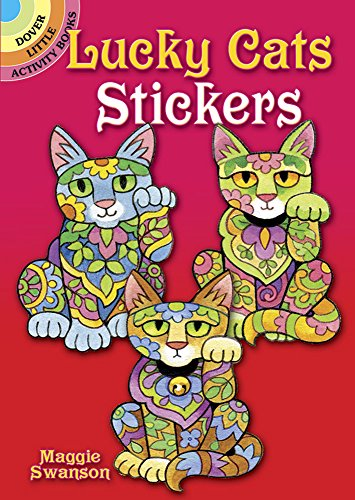 9780486799827: Lucky Cats Stickers (Dover Little Activity Books Stickers)