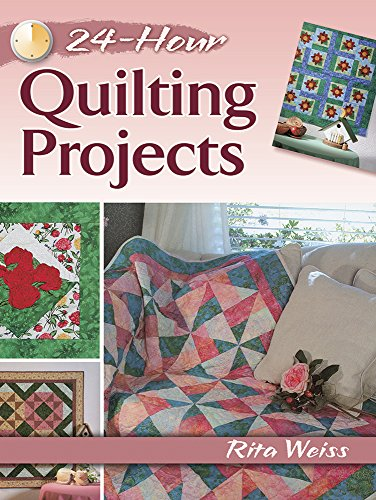 9780486800318: 24-Hour Quilting Projects (Dover Quilting)