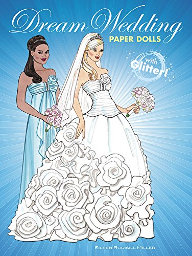 9780486801223: Dream Wedding Paper Dolls with Glitter! (Dover Paper Dolls)