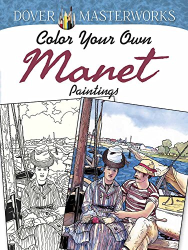 9780486801575: Dover Masterworks: Color Your Own Manet Paintings