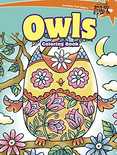 9780486802114: SPARK Owls Coloring Book (Dover Coloring Books)