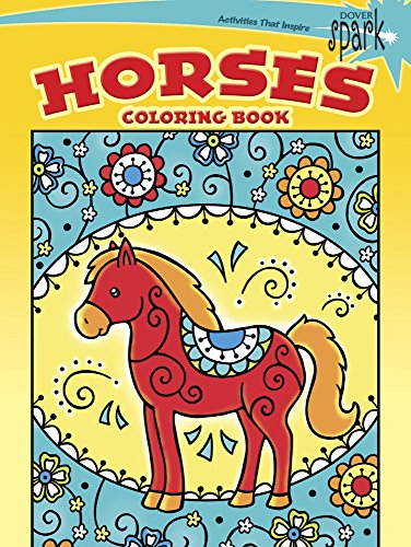 9780486802121: SPARK Horses Coloring Book (Dover Spark: Dover Coloring Books for Children)