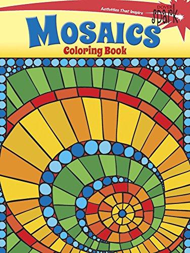 9780486802138: SPARK Mosaics Coloring Book (Dover Spark)