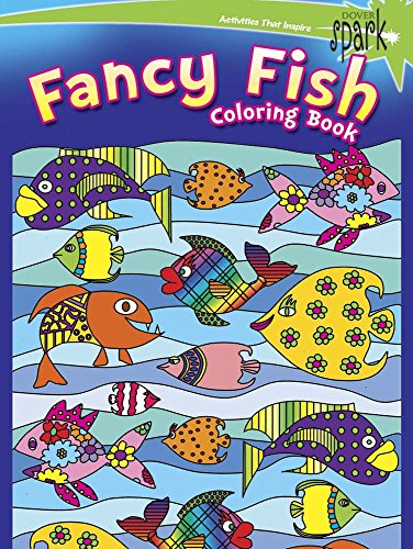 9780486802206: SPARK Fancy Fish Coloring Book (Dover Spark)