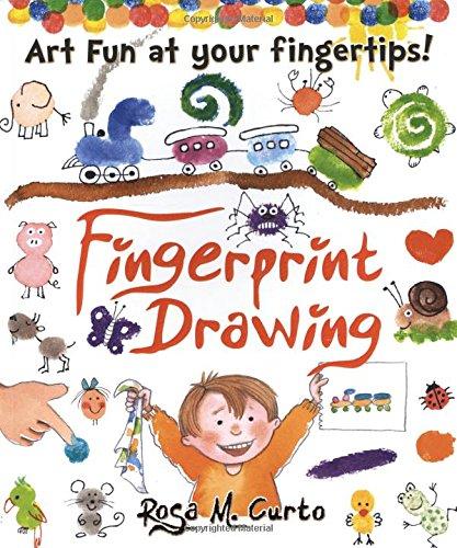 9780486802220: Fingerprint Drawing: Art Fun at Your Fingertips!
