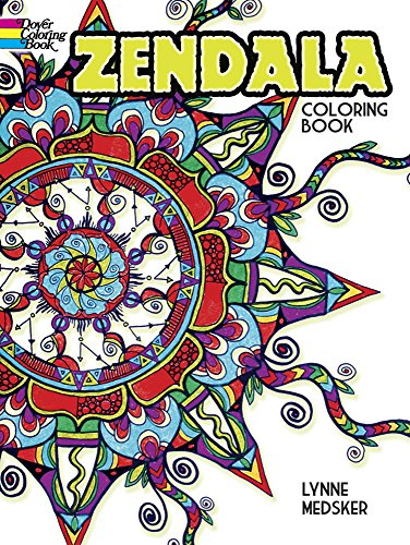 Zendala Coloring Book Dover Design Books