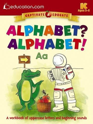 9780486802541: Alphabet? Alphabet!: A workbook of uppercase letters and beginning sounds