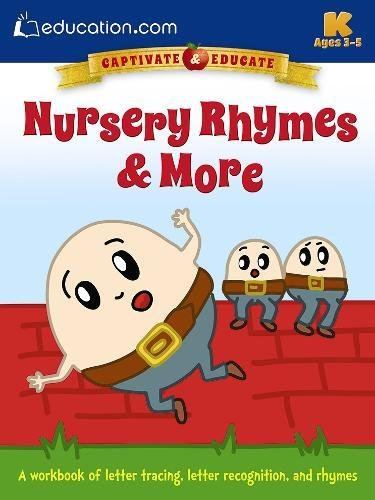 9780486802558: Nursery Rhymes & More: A workbook of letter tracing, letter recognition, and rhymes
