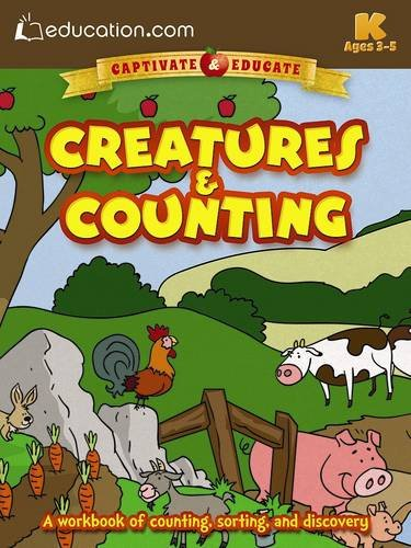9780486802749: Creatures & Counting: A workbook of counting, sorting, and discovery