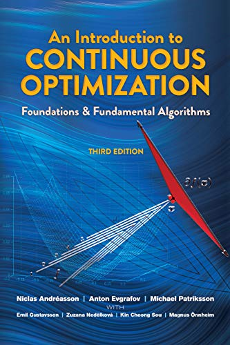 9780486802879: An Introduction to Continuous Optimization: Foundations and Fundamental Algorithms, Third Edition (Dover Books on Mathematics)