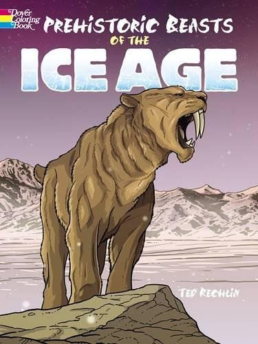 9780486803135: Prehistoric Beasts of the Ice Age (Dover Coloring Books)
