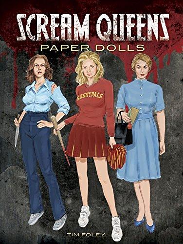 9780486803142: Scream Queens Paper Dolls (Dover Celebrity Paper Dolls)