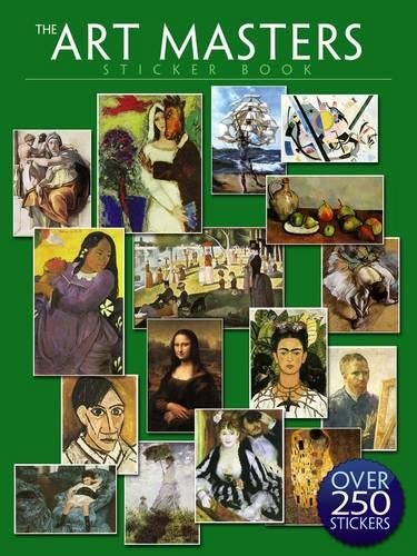 The Art Masters Sticker Book: Over 250 Stickers: Dover