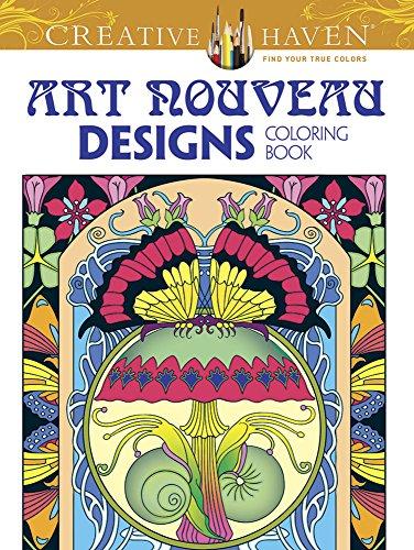 9780486803517: Creative Haven Art Nouveau Designs Collection Coloring Book (Creative Haven Coloring Books)