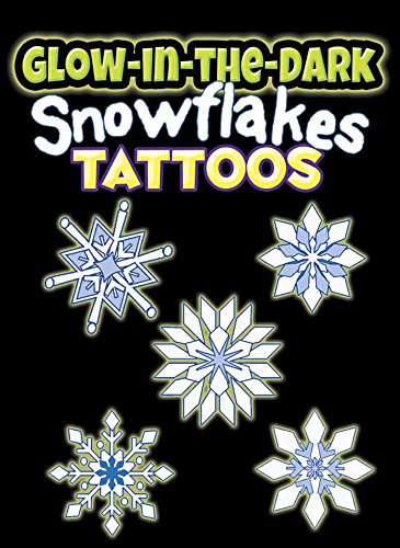 9780486803586: Glow-in-the-Dark Tattoos Snowflakes (Dover Little Activity Books)