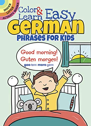 9780486803609: Color & Learn Easy German Phrases for Kids (Dover Little Activity Books)