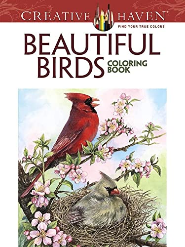 9780486804019: Creative Haven Beautiful Birds Coloring Book (Adult Coloring)