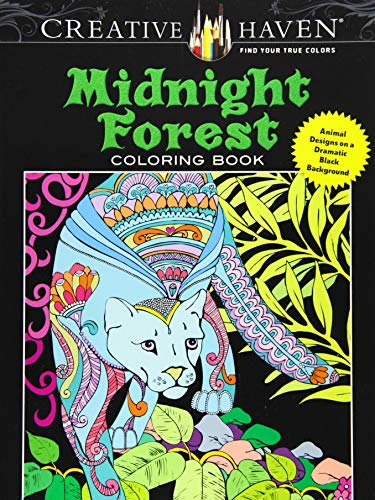Creative Haven Midnight Forest Coloring Book: Animal: Boylan, Lindsey